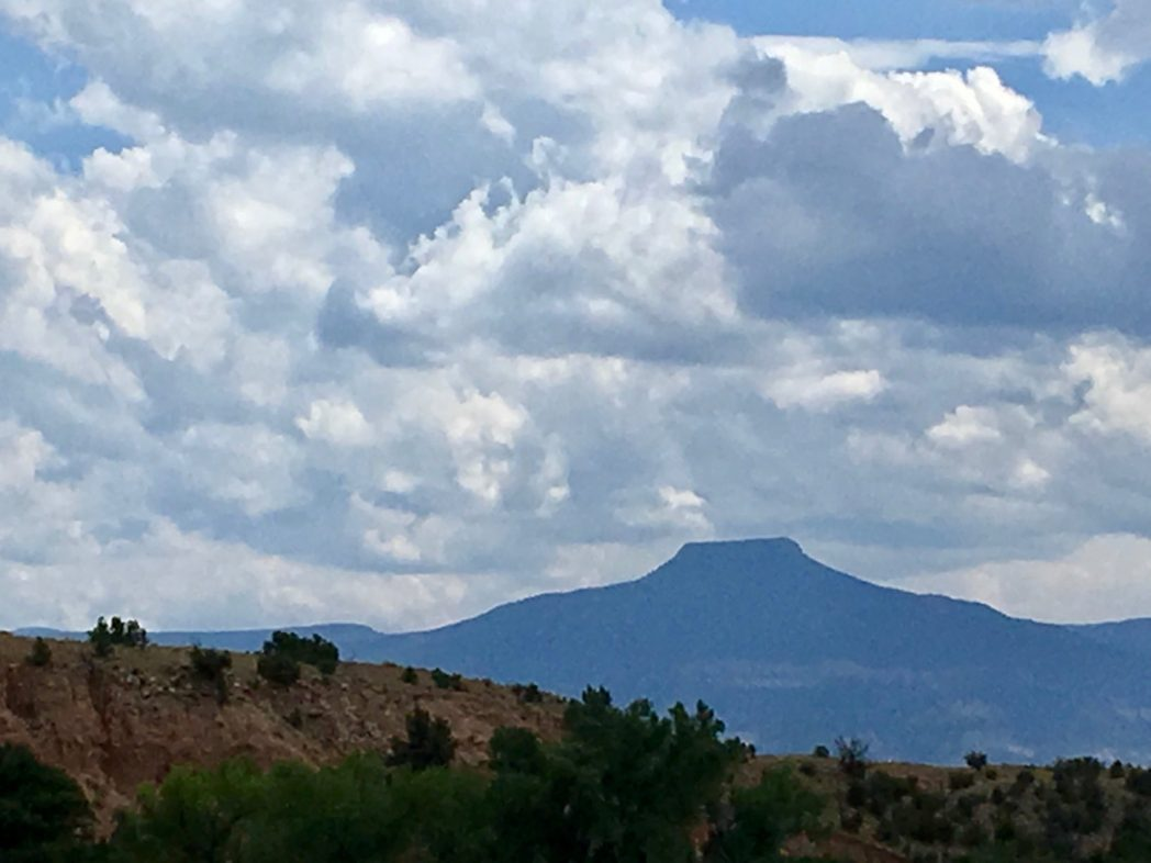 Photo of mountains in distance in New Mexico - Happiness